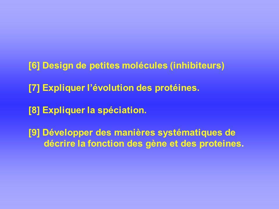 [6] Design de petites molécules (inhibiteurs)